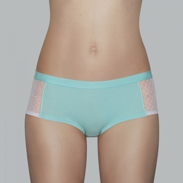 EMMA - shorty, mint-white, discontinued colour