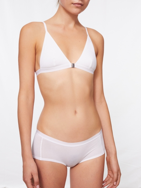 PATTI - triangle bra, white, selected seconds*