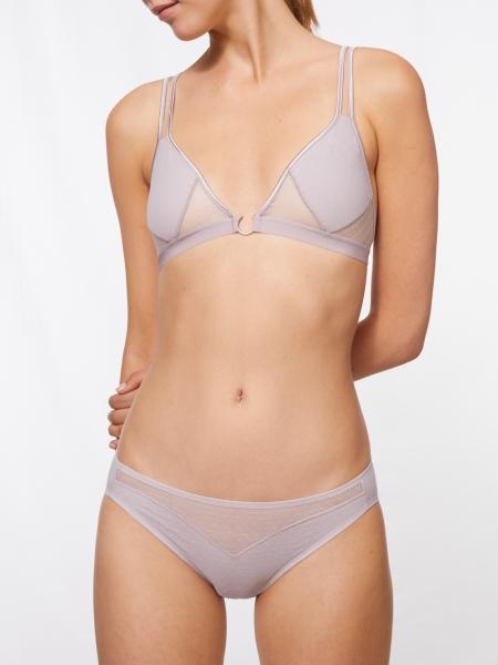 MILLA - triangle bra, rosegrey, discontinued style